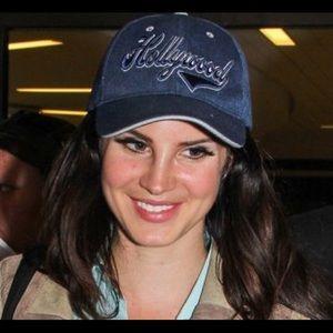 Hollywood blue cap